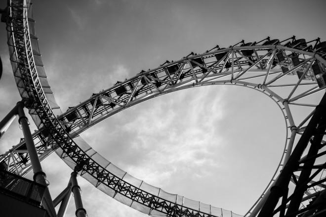 Rollercoaster at Korakuen