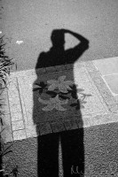 The World in Monochrome - Selfie