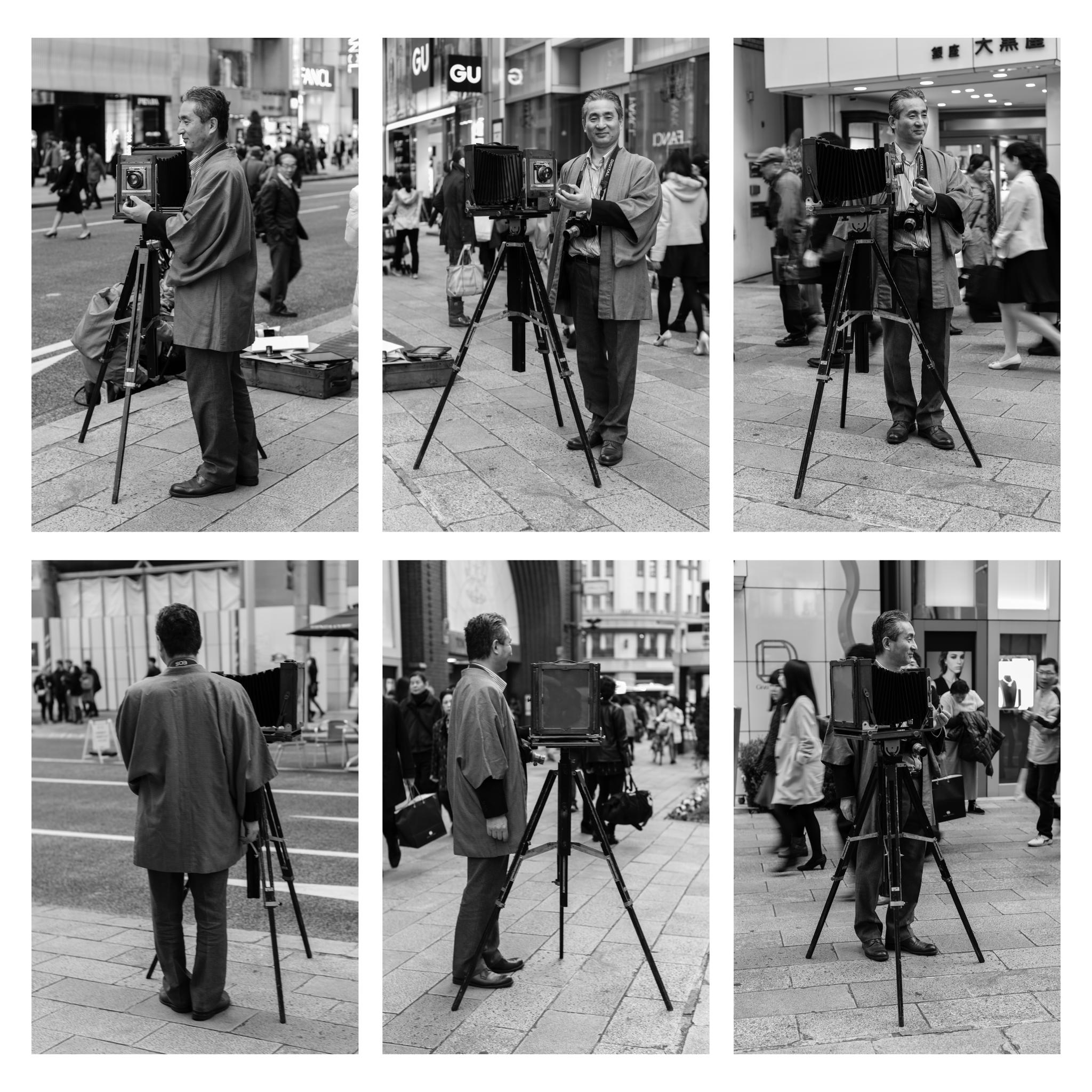 Cameraman in Ginza